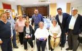 El barrio de La Laguna celebró su 'Día del Mayor 2018' homenajeando a tres vecinas