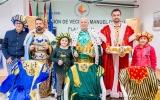 Presentados los Reyes Magos 2019 del barrio La Laguna